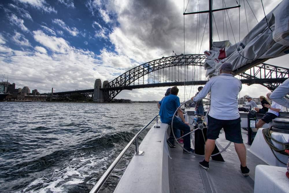 Sherry Ott sydney sailing 1