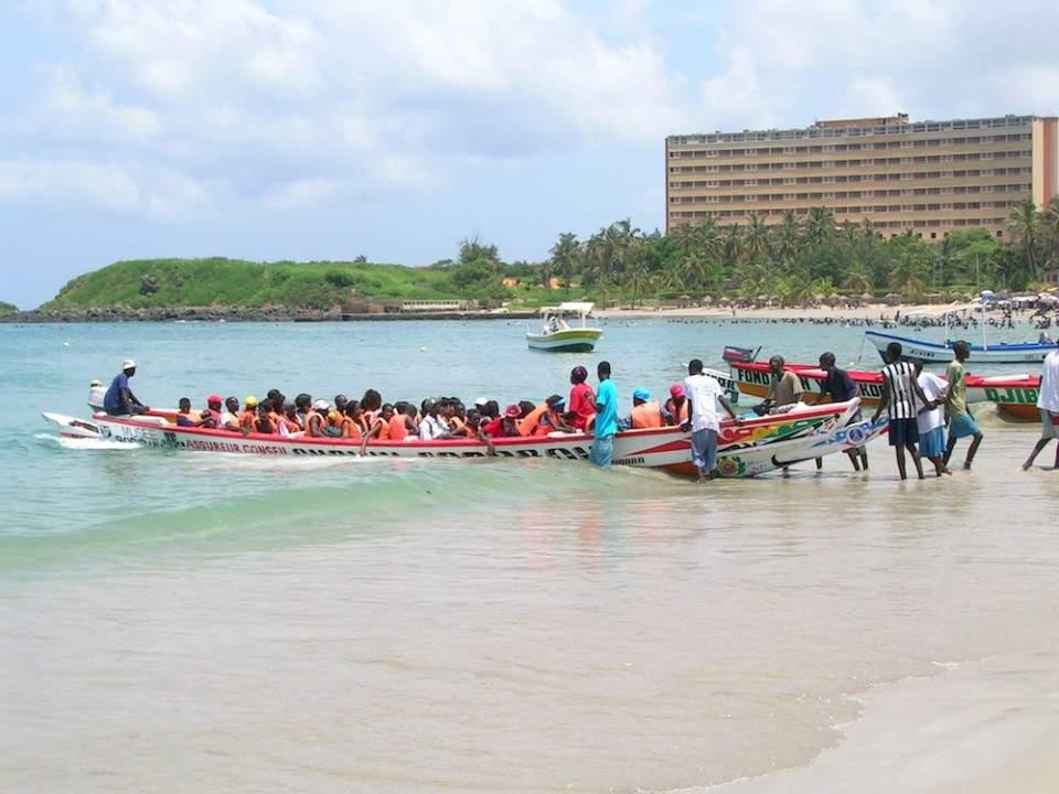 Ngor_Pirogue Boat