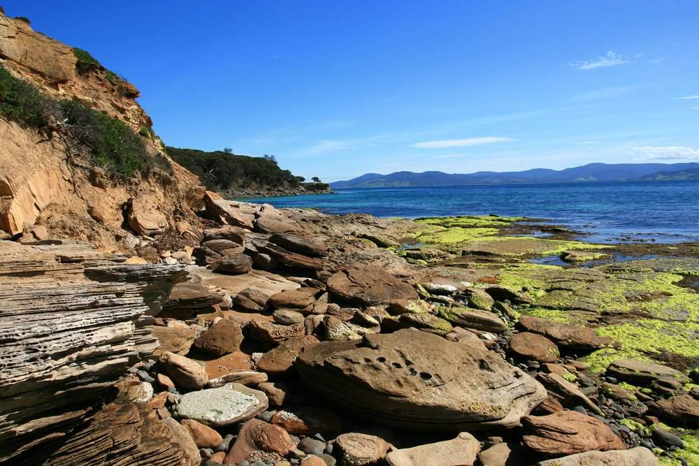 australia hike maria island