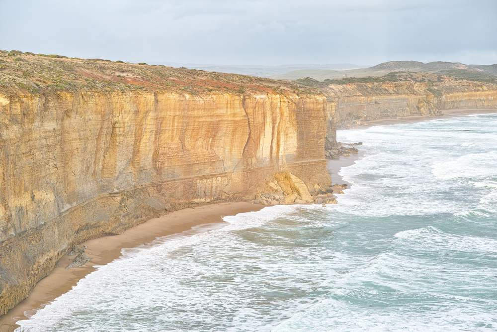 australian hike- ocean