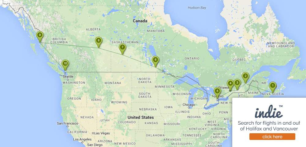 How To Travel Across Canada by Train, On A Budget