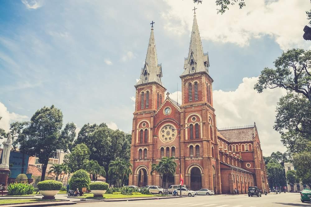 Catholic Cathedral Ho Chi Minh