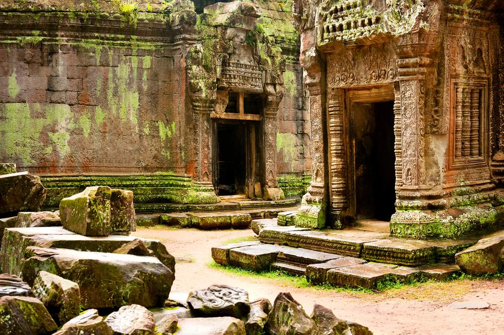 Temple Ruins at Angkor Way