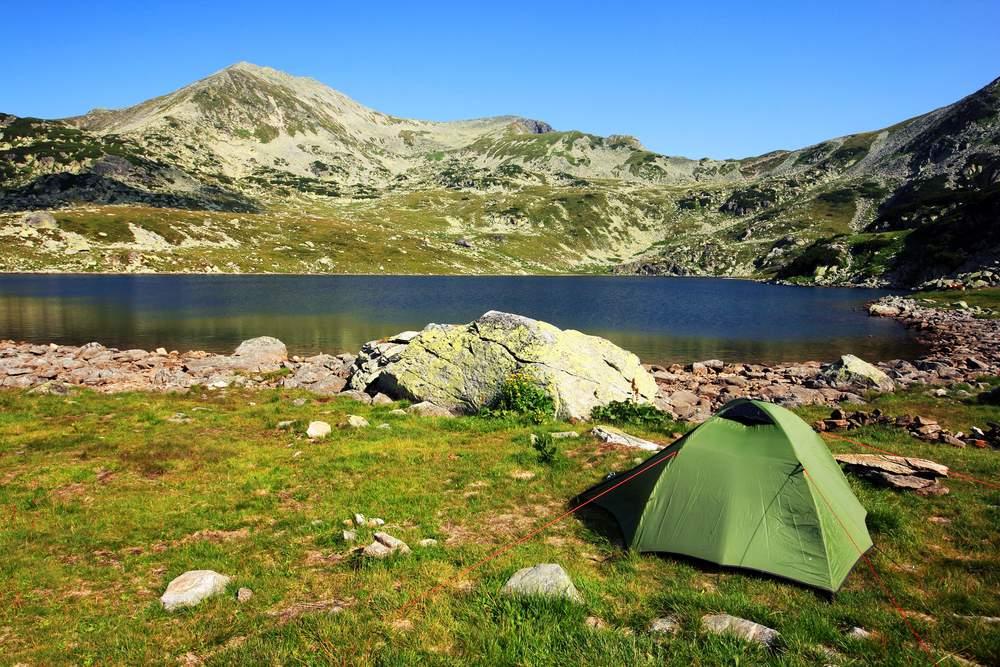 Camping in Retezat National Park Romania