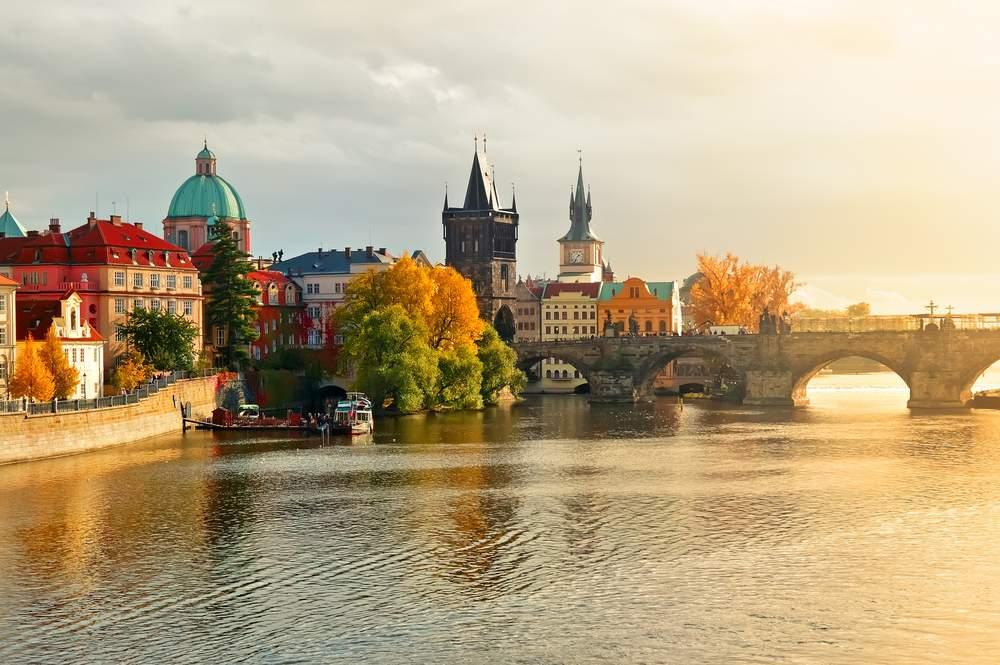 Prague, Czech Republic, from the River