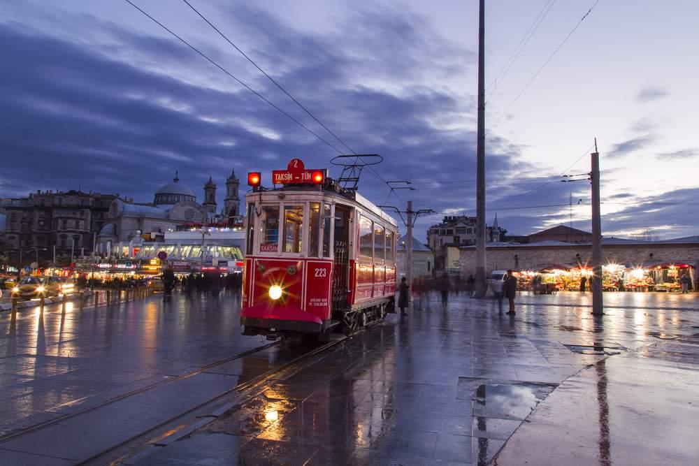 Public Transit, Istanbul, Turkey