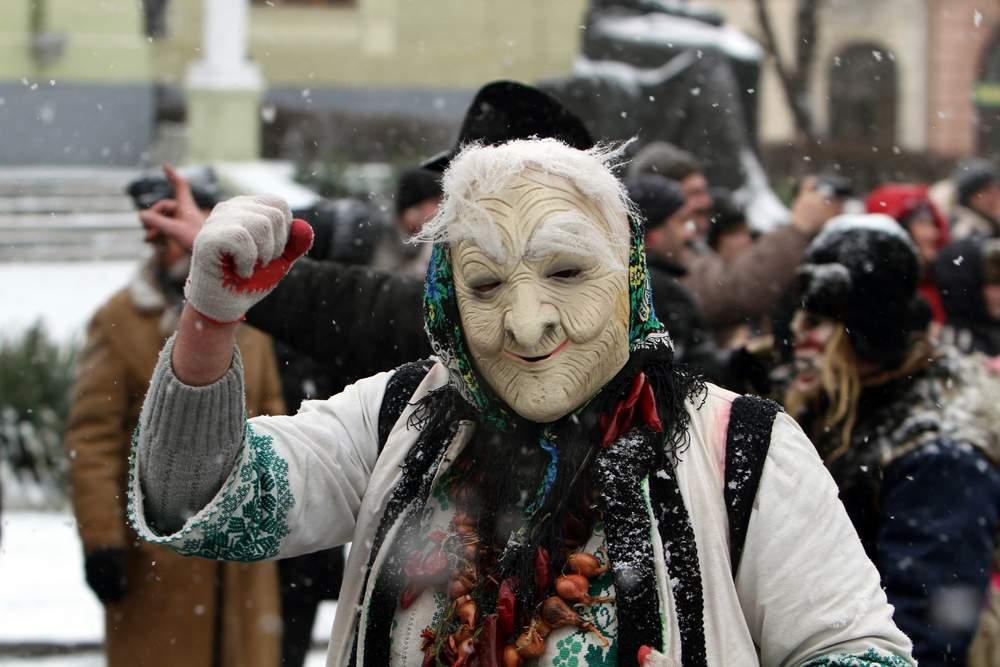 Malanka festival in Ukraine