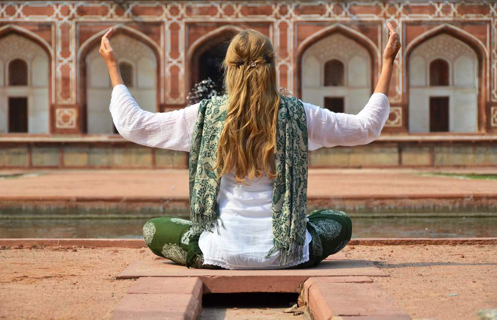survive the stress of India with meditation