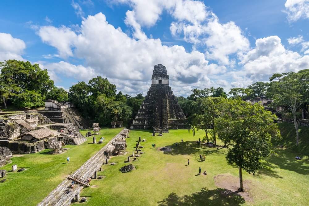 Pyramids & ruins in Guatemala