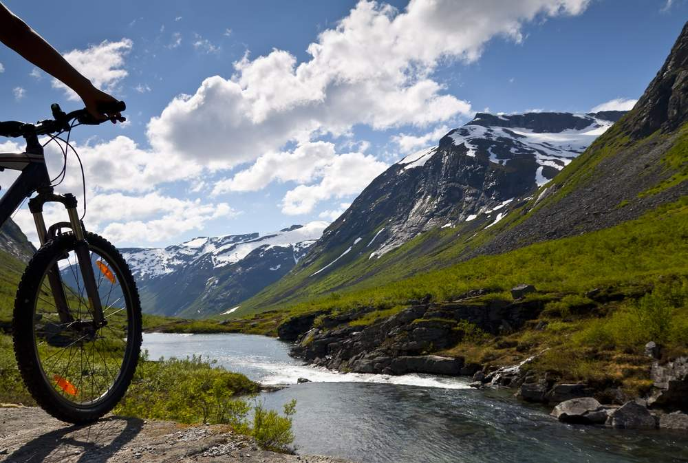 Extreme cycling adventures