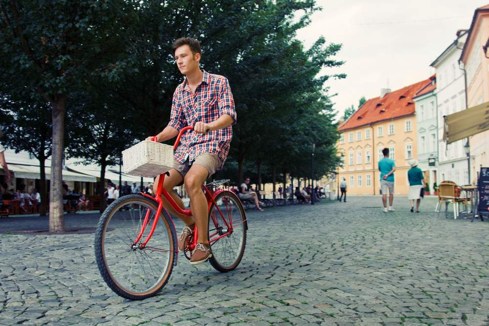ride a bike to save money on your trip