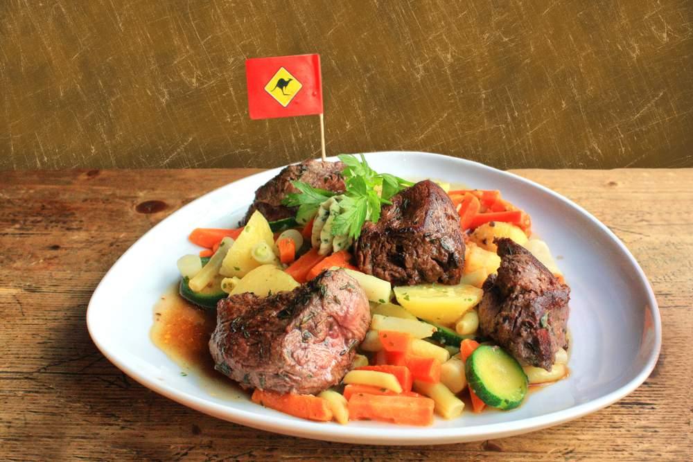 Kangaroo, lean and tasty-- the perfect Australian food?