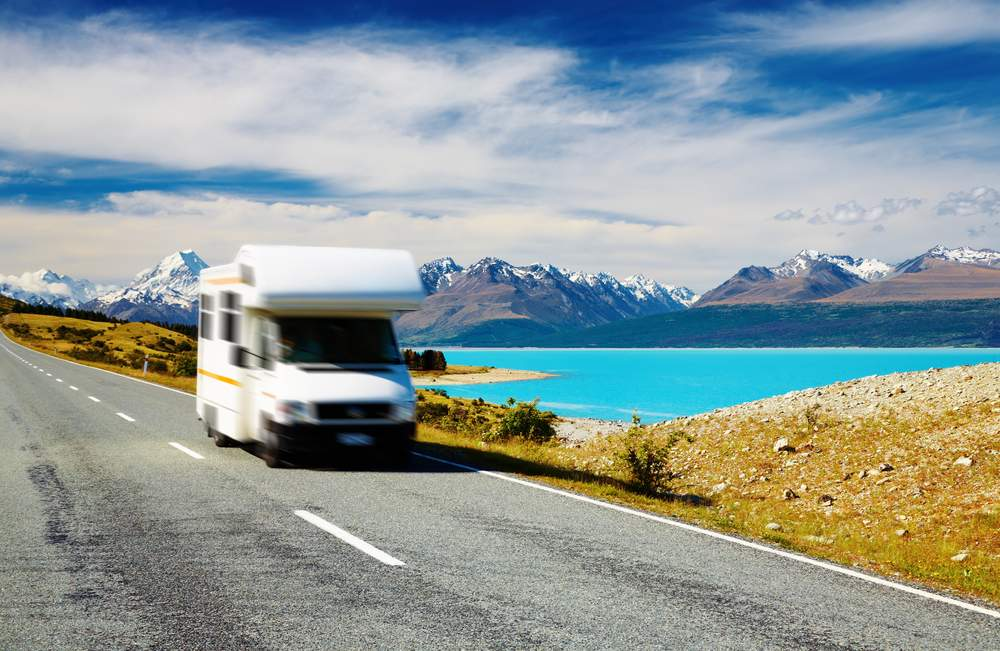 Camper vans are a great way to see New Zealand
