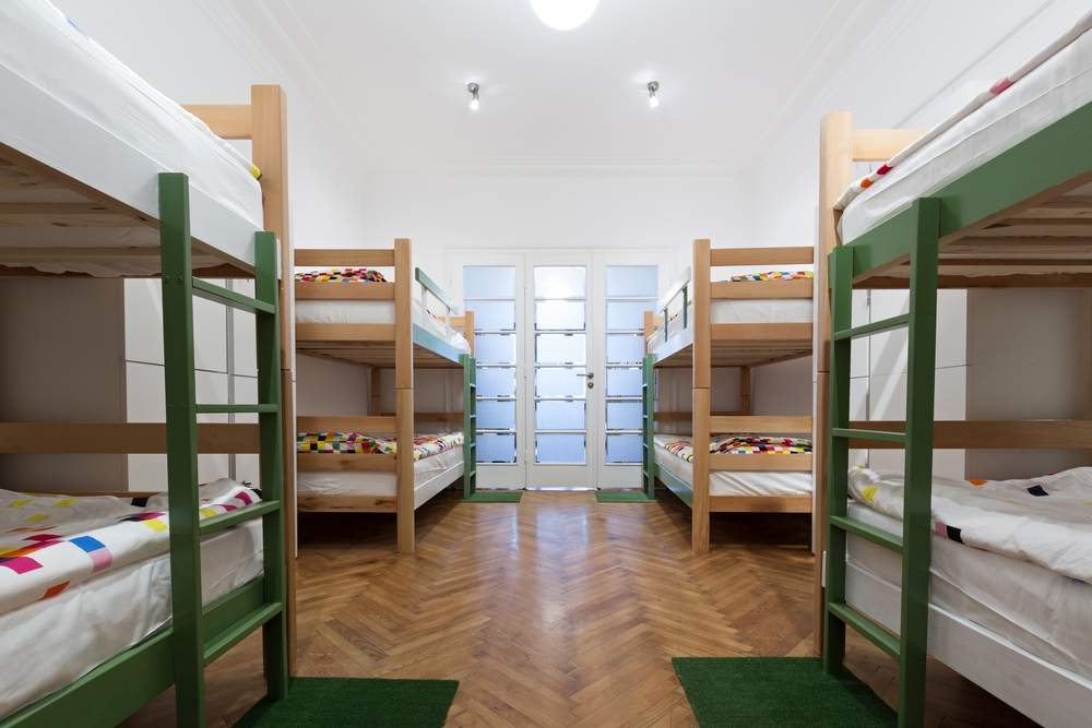 Switch it up when you're lonely with a hostel dorm
