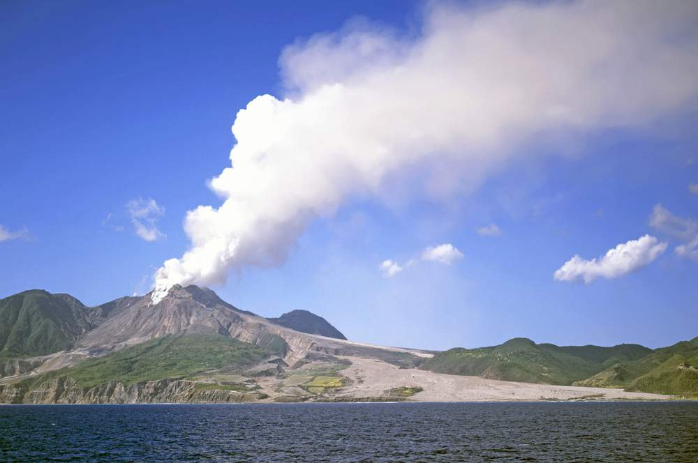 Montserrat Hills are actually Volcanoes