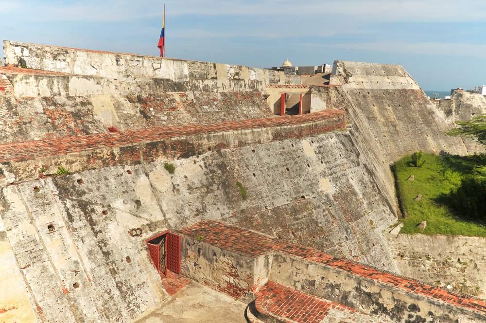 San Felipe Fortress in Cartagena, Colombia